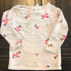 Floral lightweight sweatshirt